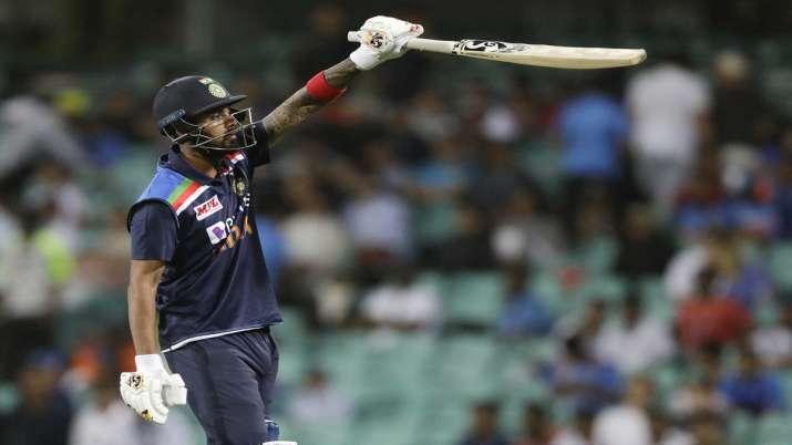 KL Rahul against Australia