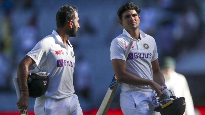 Cheteshwar Pujara and Shubman Gill