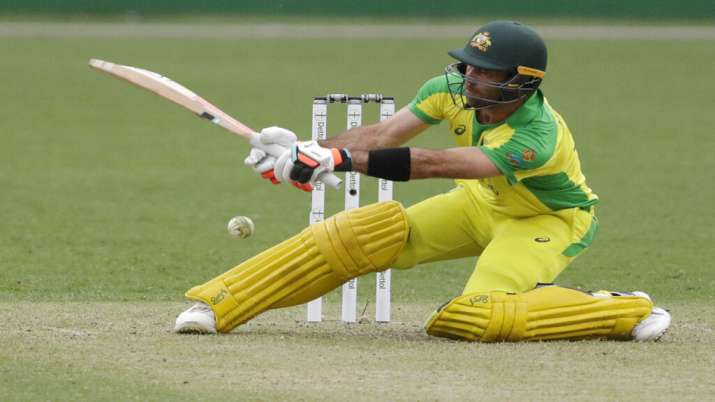 Glenn Maxwell against India