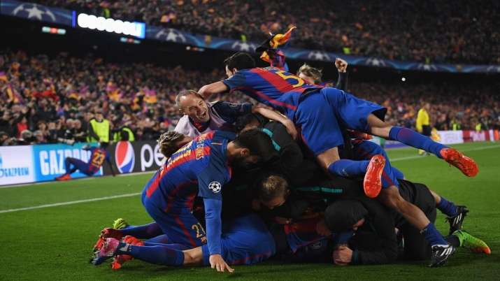 Barcelona will host the first leg this time because it was