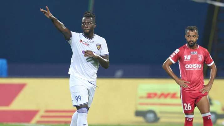 Goncalves scored in the 15th and 21st minutes for Chennayin.