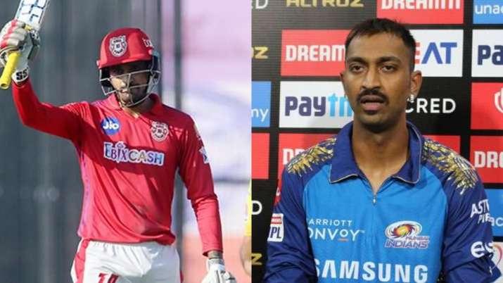 Deepak Hooda and Krunal Pandya