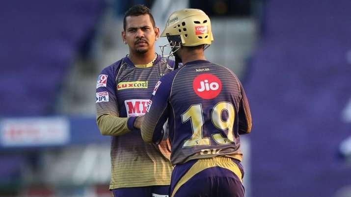 Sunil Narine, IPLT20.com, IPL 2021 RCB vs KKR