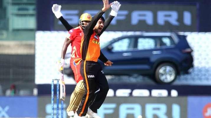 Rashid Khan against Chris Gayle, IPL 2021