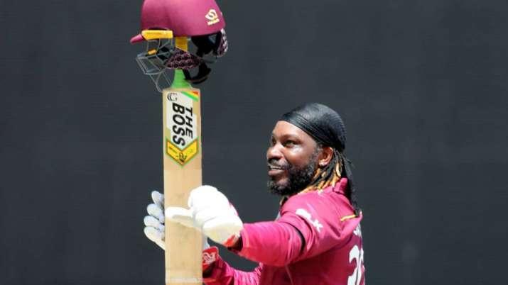 West Indies dasher Chris Gayle