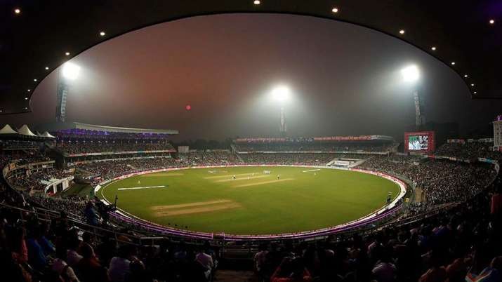 Iconic Eden Gardens cricket stadium