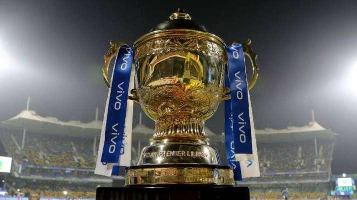 File photo of IPL trophy