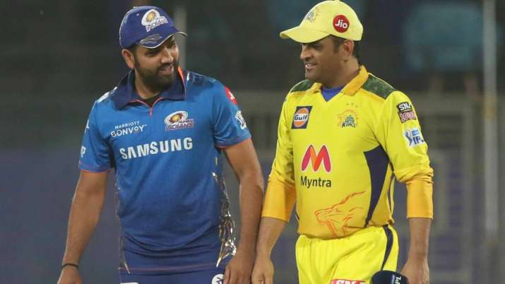 Rohit Sharma and MS Dhoni, IPL 2021
