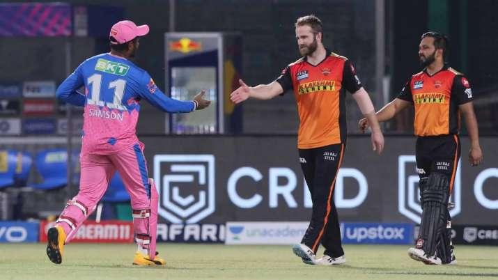 IPL 2021 RR vs SRH