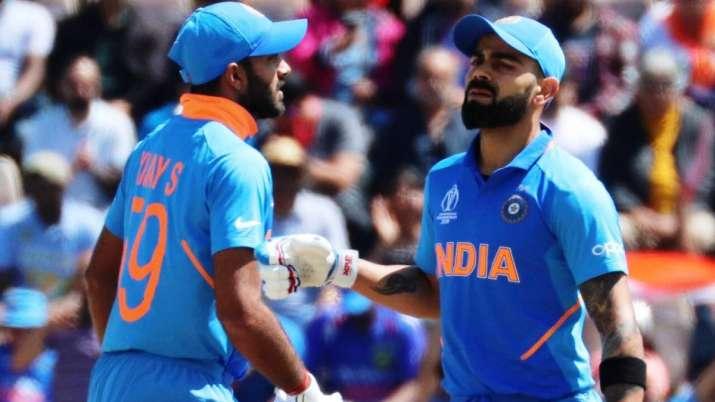 Vijay Shankar and Virat Kohli