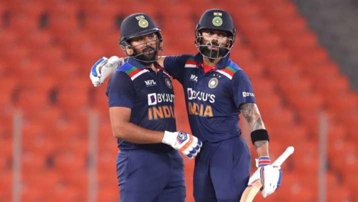 Rohit Sharma and Virat Kohli