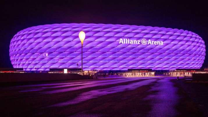 File photo of Munich's Allianz Arena.