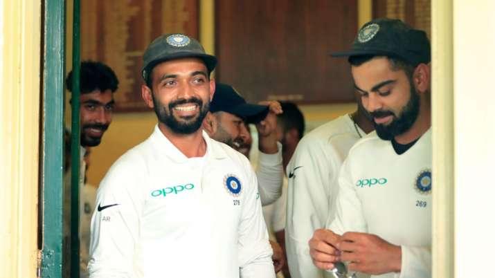 Ajinkya Rahane and Virat Kohli
