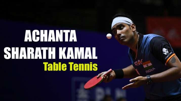 Achanta Sharath Kamal of India