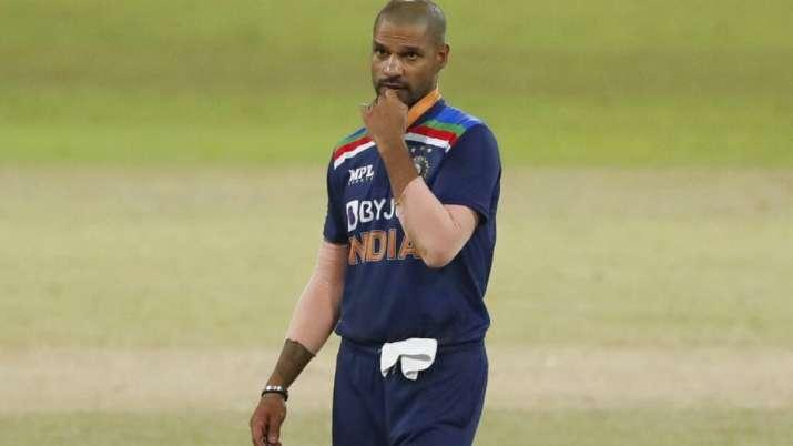 Shikhar Dhawan of India