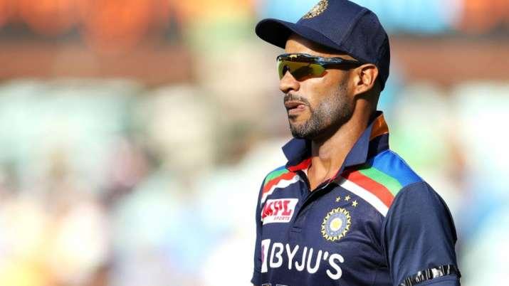 India opener Shikhar Dhawan, IND vs SL