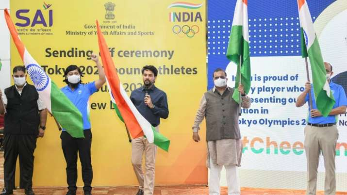 Union Minister of I&B and Youth Affairs & Sports Anurag Thakur