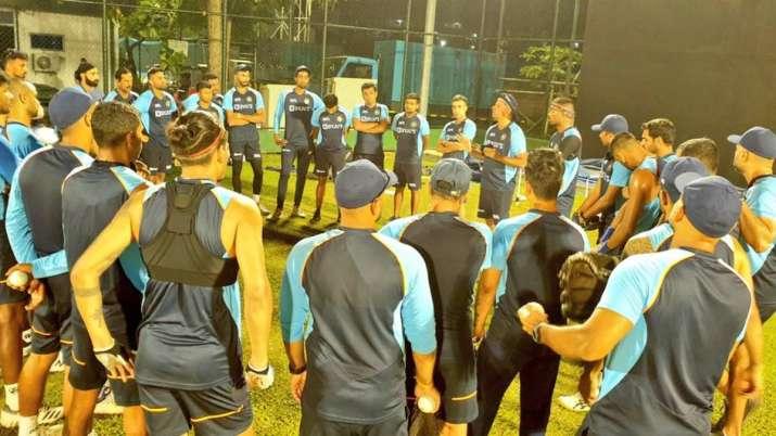 Indian cricket team in Sri Lanka