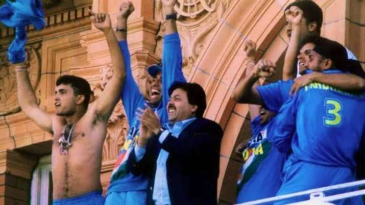 Sourav Ganguly's iconic celebration at Lord's
