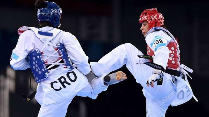 Dutch taekwondo player Reshmie Oogink
