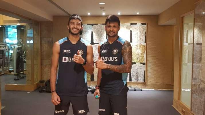 Devdutt Padikkal and Krishnappa Gowtham