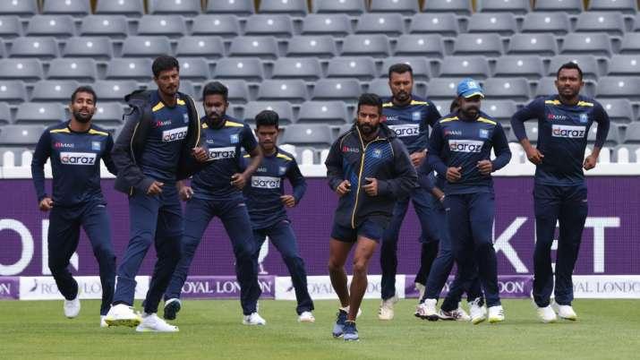 Sri Lanka first-team players