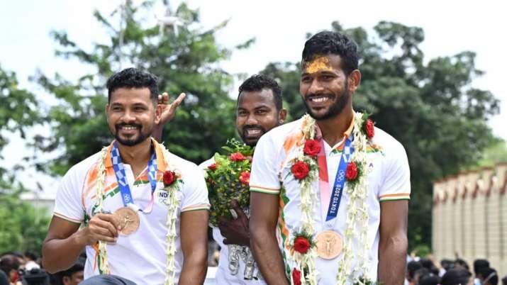 Tokyo Olympics: Rousing welcome greets Odisha hockey stars in home district in Odisha
