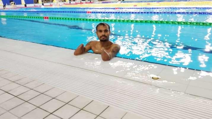Swimmer Suyash Jadhav