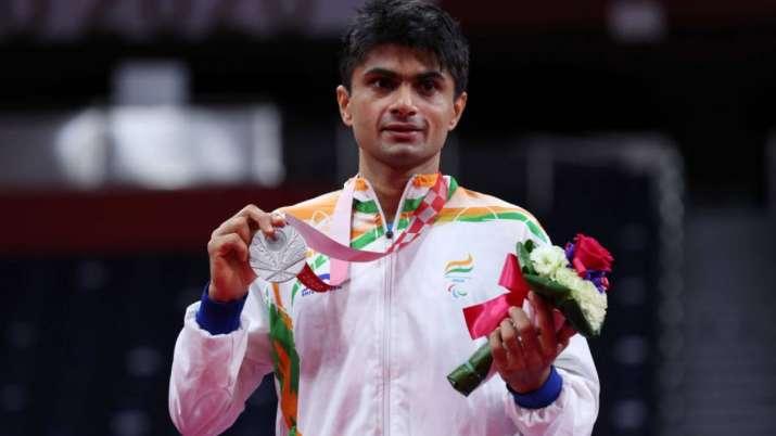 Tokyo Paralympics silver medalist Suhas Yathiraj