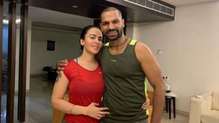 Shikhar Dhawan parts ways with wife Ayesha Mukerji after eight years of marriage